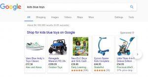 google shop search